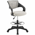 Modway Thrive Mesh Drafting Chair in Gray MY-EEI-3040-GRY