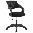 Modway Thrive Mesh Office Chair in Black MY-EEI-3041-BLK