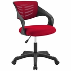 Modway Thrive Mesh Office Chair in Red MY-EEI-3041-RED