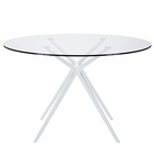Modway Tilt Round Dining Table in White MY-EEI-1069-WHI