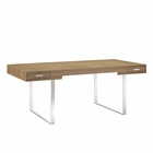 Modway Tinker Office Desk in Natural MY-EEI-293-NAT