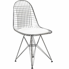 Modway Tower Dining Faux Leather Side Chair in White MY-EEI-200-WHI