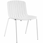 Modway Trace Dining Side Chair in White MY-EEI-1495-WHI