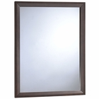 Modway Tracy Upholstered Fabric Wood Mirror in Cappuccino MY-MOD-5243-CAP