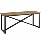 Modway Traverse Pine Wood and Steel Stand in  MY-EEI-2638-BRN