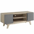 "Modway Tread 47"" TV Stand in Natural Gray MY-EEI-2532-NAT-GRY"