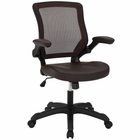 Modway Veer Faux Leather Office Chair in Brown MY-EEI-291-BRN