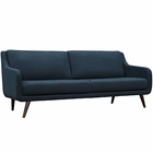 Modway Verve Upholstered Fabric Sofa in Azure MY-EEI-2129-AZU