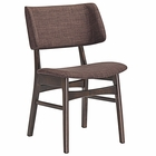 Modway Vestige Dining Side Chair in Walnut Mocha MY-EEI-1610-WAL-MOC