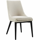 Modway Viscount Upholstered Fabric Dining Side Chair in Beige MY-EEI-2227-BEI
