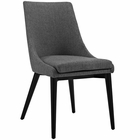 Modway Viscount Upholstered Fabric Dining Side Chair in Gray MY-EEI-2227-GRY