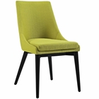 Modway Viscount Upholstered Fabric Dining Side Chair in Wheatgrass MY-EEI-2227-WHE