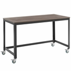 Modway Vivify Computer Office Writing Desk in Gray Walnut MY-EEI-2852-GRY-WAL