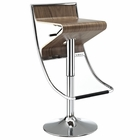 Modway Zig-Zag Bar Stool in Walnut MY-EEI-693-WAL