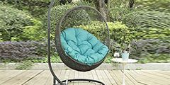 Outdoor Patio Swing Chairs and Hammocks