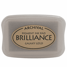 Brilliance Ink Pads - Galaxy Gold