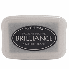 Brilliance Ink Pads - Graphite Black