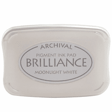 Brilliance Ink Pads - Moonlight White