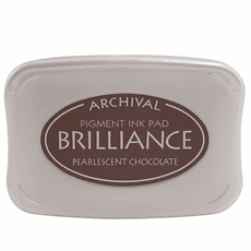 Brilliance Ink Pads - Pearlescent Chocolate