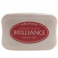 Brilliance Ink Pads - Rocket Red