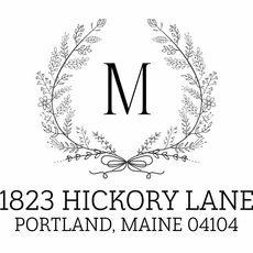 Return Address Stamp - The Hickory