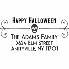 Halloween Self Inking Stamps - The Adams