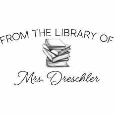 Personalized Book Stamp - The Dreschler