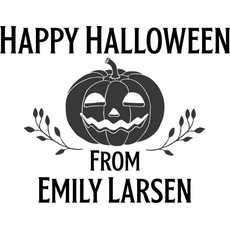 Halloween Gift Tags - The Emily