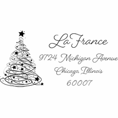 Christmas Tree Stamp - The LaFrance