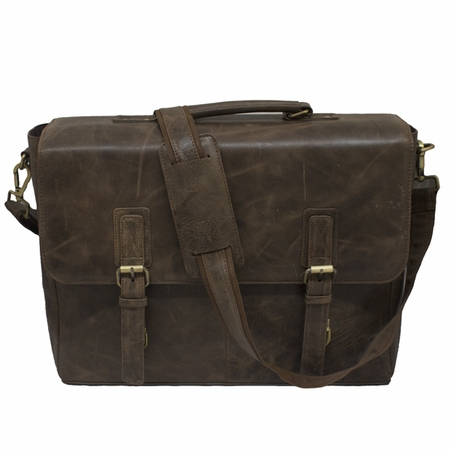 Bullet Blocker Dark Leather Line Messenger Bag