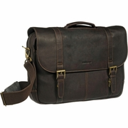 Bullet Blocker Leather Messenger Bag