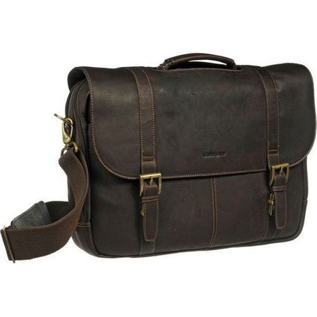 Bullet Blocker NIJ IIIA Leather Messenger Bag