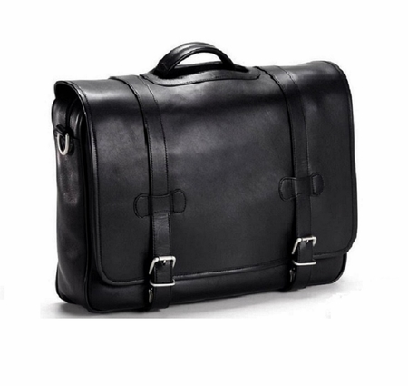 BulletBlocker NIJ IIIA Bulletproof Leather Flap Briefcase