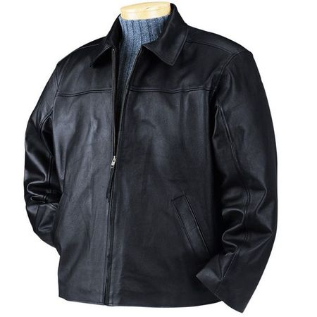 BulletBlocker NIJ IIIA Bulletproof Leather Jacket - Closeout