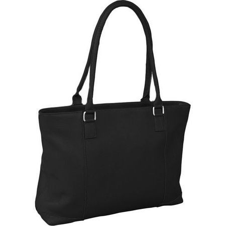 Leather Laptop Tote Closeout - Previous Model