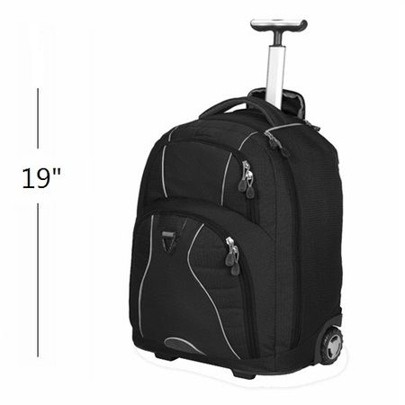 Bullet Blocker NIJ IIIA Rolling Backpack