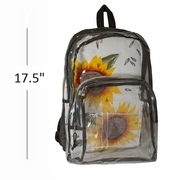 Bullet Blocker NIJ IIIA Clear Backpack