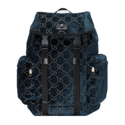 Gucci Medium GG Velvet Backpack