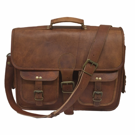 Bullet Blocker Leather Line Briefcase