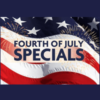 July Monthly Specials
