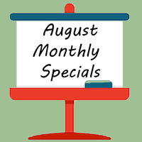 August Monthly Specials