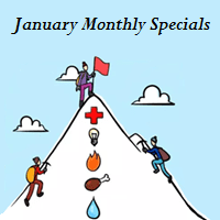 January Monthly Specials