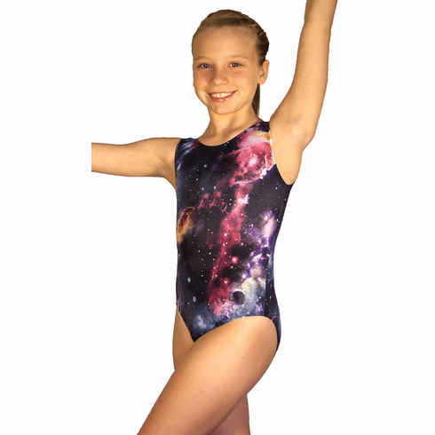 Out of this World Galaxy Gymnastic Leotard