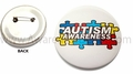 Autism Awareness Badge Button 2""