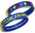 Autism Awareness Bracelets Adult Size