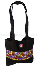 Autism Awareness Handmade Purse Model - 200