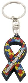 Autism Awareness Key Tag