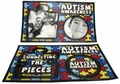 Autism Awareness Photo Frame Magnet