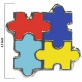 Autism Awareness Puzzle Tack Pin