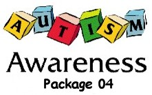 Autism Awareness Silver Package 04